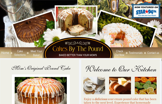 Cakes By The Pound